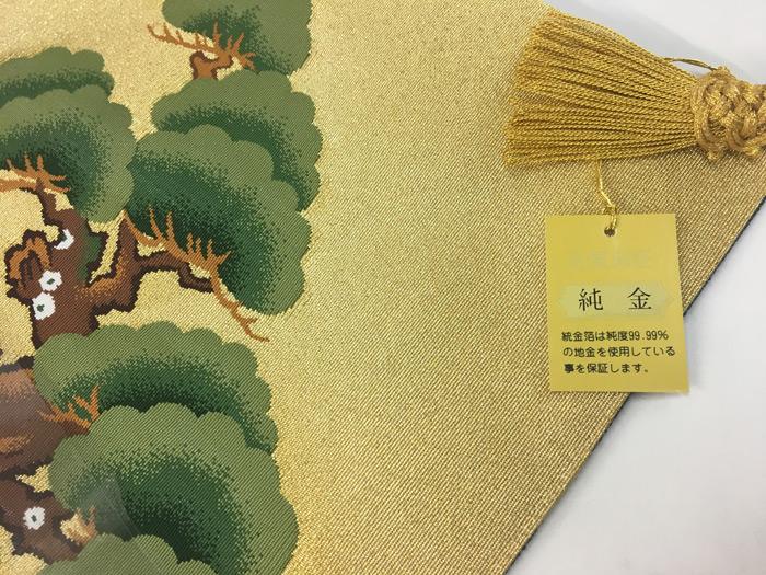 純金の「掛袱紗」
