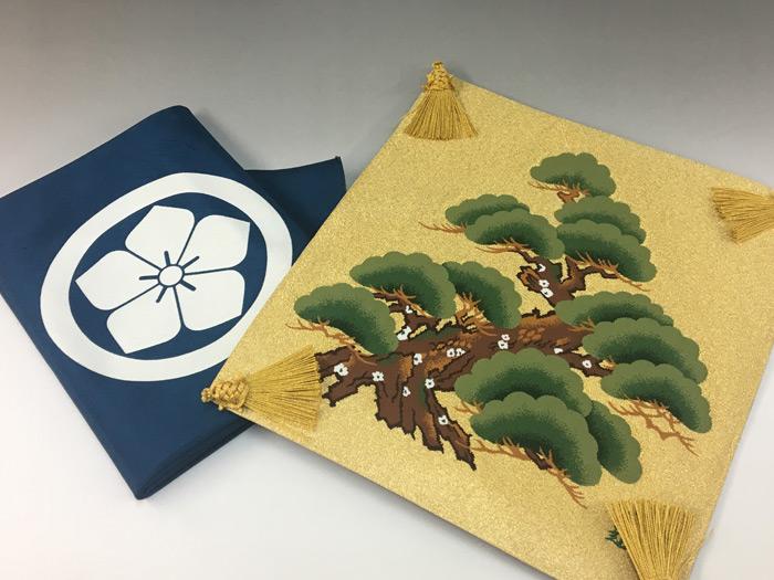 貴富音綴(きふねつづれ)の掛袱紗
