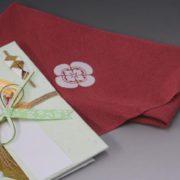 """上品で初々しい""""ローズ""""の手袱紗45cm巾"""