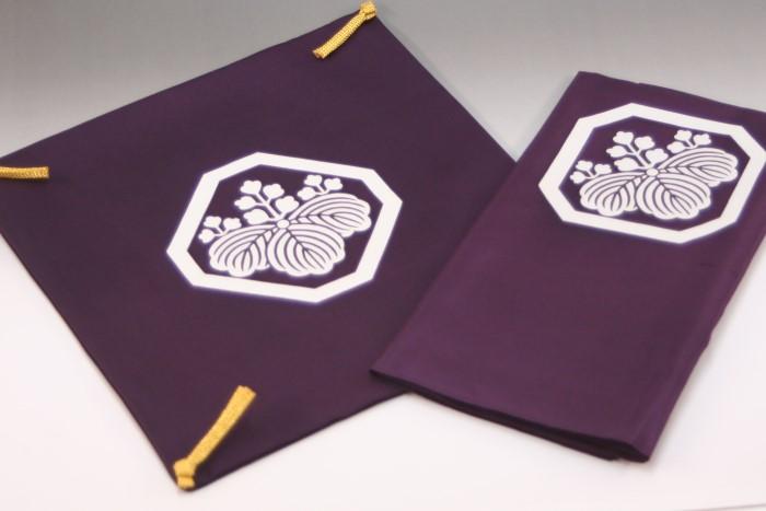 「折敷」掛8風呂敷2.4古代紫