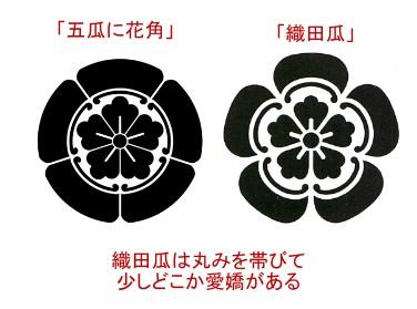 織田瓜と五瓜に花角
